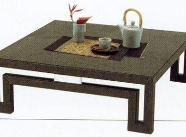 日本古来の伝統家具「ちゃぶ台」の現代アレンジコーデ