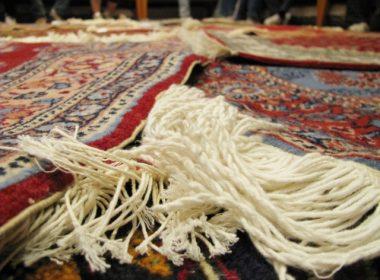 ペルシャ絨毯!!
