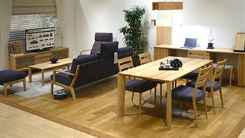 カリモク家具広島ショールーム