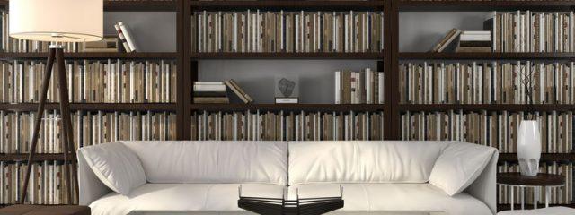 自宅をブックカフェ風インテリアに仕上げる本棚コーディネート