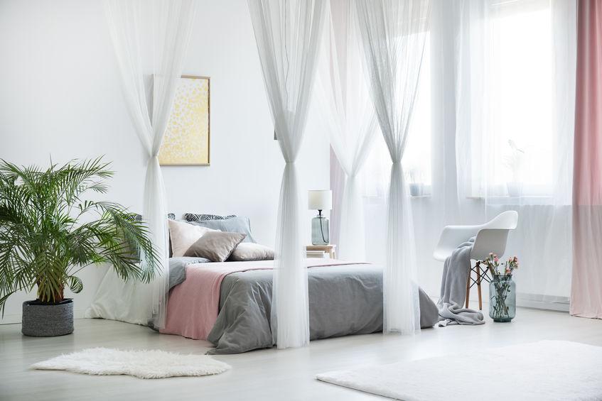 憧れの姫ベッドで眠りたい!天蓋カーテンコーディネート2