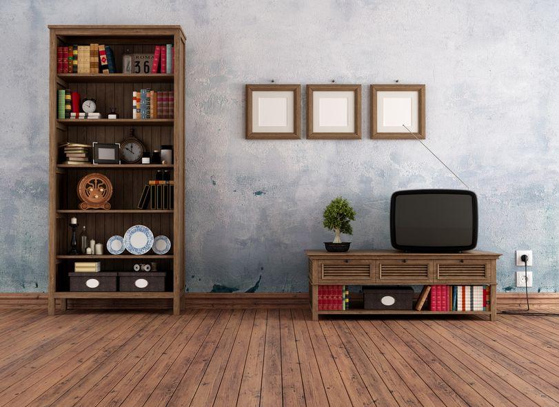 知的に見える?本と書棚を活用するリビングインテリア3