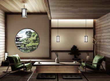 【日本ならではの美しさ】人気の和モダンリビングのコーディネート