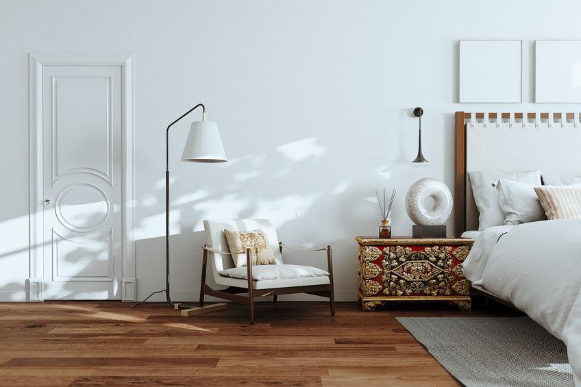 寝室を彩る照明やインテリア雑貨の活用コーディネート1