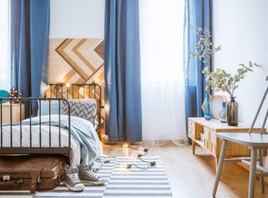 寝室のカラーコーディネートはカーテン&布団カバーで整えよう