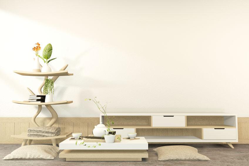リビングの中心となるローテーブルの魅力とオシャレなインテリアコーデ1